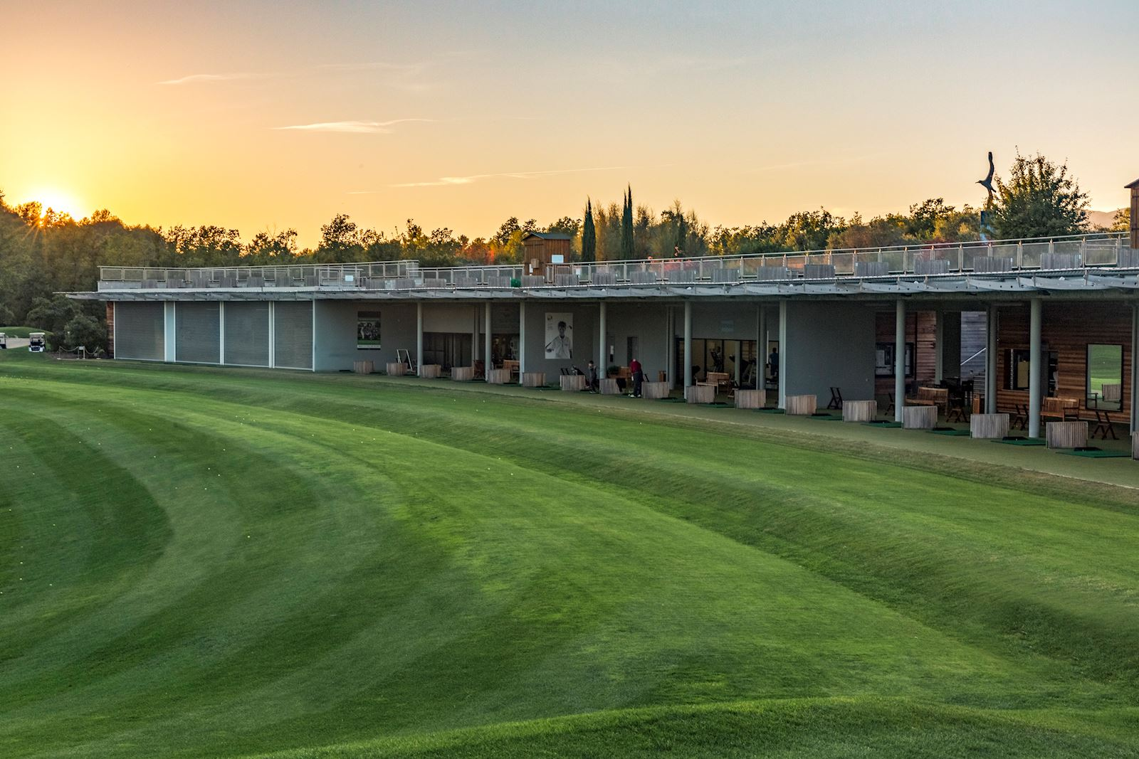 l'Albatros Golf Performance Center - vue panoramique